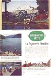 Washington State Explorers Paradise Ad auc3536 1940s