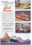 Moore McCormack South Pacific Cruises Ad auc3538 1940