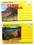 Click here to enlarge image and see more about item auc357: Souvenir Folders of Cape Breton Nova Scotia lOT auc357
