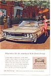 Click here to enlarge image and see more about item auc3613: 1960 Pontiac Bonneville Convertible Ad