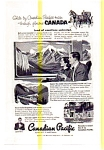Click here to enlarge image and see more about item auc3702: Canadian Pacific Railroad Across Canada Ad