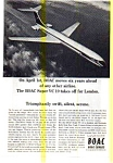 Click here to enlarge image and see more about item auc3704: BOAC Introduces the Super VC10 Ad auc3704