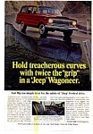 Click here to enlarge image and see more about item auc3720: Jeep Wagoneer 4-Wheel Drive Ad auc3720