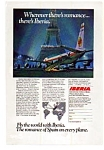 Click here to enlarge image and see more about item auc3728: Iberia Airlines Romance of Spain Ad auc3728
