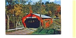 Taftsville VT Covered Bridge Postcard