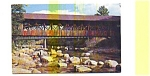 Bartlett NH  Covered Bridge Postcard aug0453