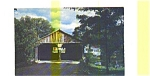 Otter Creek VT Covered Bridge Postcard aug0454