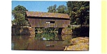 Mad River Bridge VT Postcard aug1152