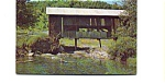 Click here to enlarge image and see more about item aug1161: Covered  Bridge VT Postcard