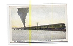 Western Pacific Steam Train UT Postcard aug2755