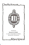 Click here to enlarge image and see more about item b0145: Cook Book Women's Guild St. Paul's  Booklet
