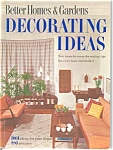 Click here to enlarge image and see more about item b0179: Decorating Ideas Better Homes Gardens