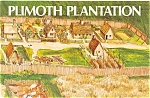 Click here to enlarge image and see more about item b0273: Plimoth Plantation Booklet