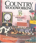 Click here to enlarge image and see more about item b0359: Country Woodworking, Favorite and Engler ,Crafts Book