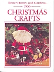 Click here to enlarge image and see more about item b0425: 1990 Christmas Crafts, Better Homes and Gardens
