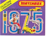 Click here to enlarge image and see more about item b0764-75: Matchbox Catalogues 1975 and 1978