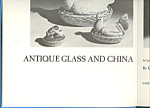 Antique Glass and China Guide Begining Collector