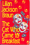 Click here to enlarge image and see more about item b1239: The Cat  Who came to Breakfast, Braun