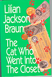 Click here to enlarge image and see more about item b1263: The Cat  Who Went Into The Closet, Braun