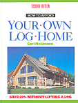 Click here to enlarge image and see more about item b1305: How to Afford Your Own Log Home, Heldmann