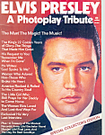 Click here to enlarge image and see more about item b1341: Elvis Presley A Photoplay Tribute 1977