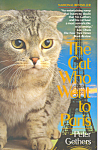 Click here to enlarge image and see more about item b1452: The Cat Who Went to Paris, Peter Gethers,First Edition