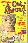 Click here to enlarge image and see more about item b1453: A Cat Abroad, Peter Gethers,First Edition