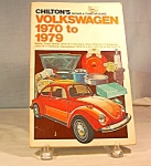 Click here to enlarge image and see more about item b1474: Chilton's Volkswagen 1970-1979 Repair & Tune-Up Guide