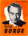 Click here to enlarge image and see more about item b1528: Victor Borge Souvenir Program 1953