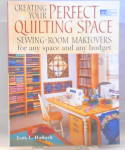 Click here to enlarge image and see more about item b2920: Creating Your Perfect Quilting Room Makeovers b2920