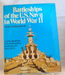 Click here to enlarge image and see more about item b3024: Battleships of the U.S. Navy in World War II by Stefan Terzibaschitsch b3024
