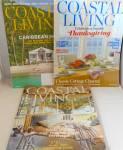 Click here to enlarge image and see more about item B3979: Coastal Living Magazine Lot of 3 Oct 2008 Nov2013 Nov 2048 B3979