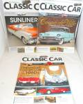 Click here to enlarge image and see more about item B3995: Hemmings Classic Cars Magazines Lot of 3 B3995