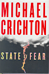 Click here to enlarge image and see more about item bf0010: State of Fear, Michael Crichton, First Edtion