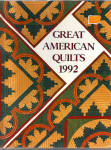 Click here to enlarge image and see more about item bh0057: Great American Quilts 1992