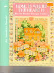 Click here to enlarge image and see more about item bh0064: Home is Where the Heart Is Cross Stitch