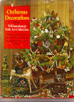 Click here to enlarge image and see more about item bh0072: Christmas Decorations from Williamsburg Folk Art