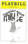 Click here to enlarge image and see more about item bk0001: Thoughly Modern Millie Playbill, Leslie Uggams