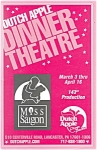 Click here to enlarge image and see more about item bk0008: Miss Saigon Dutch Apple Dinner Theatre Playbill bk0008