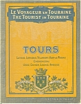 Click here to enlarge image and see more about item bk0017: The Tourist in Toraine, WWI Era Booklet