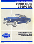 Ford Cars 1949/1951 Restoration Parts Catalog
