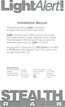 Light Alert Installation Manual bk0102