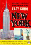Souvenir and Easy Guide to New York City bk0214