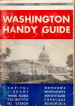 Click here to enlarge image and see more about item bk0219: Washington Handy Guide Booklet bk0219