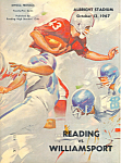 High School Football Program 1967 Reading PA