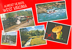 Click here to enlarge image and see more about item ca2150: Almost Heaven West Virginia Postcard ca2150