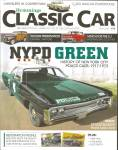 Click here to enlarge image and see more about item cc14-05: Hemmings Classic Car NYPD Green History New York Police Cars cc14-05