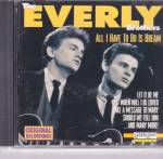 Click here to enlarge image and see more about item CD0008: Everly Brothers All I Have to Do Is Dream CD 10 Songs CD0008