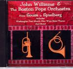 Click here to enlarge image and see more about item CD0026: John Williams Boston Pops From Sousa to Spielberg CD 10 Scores CD0026