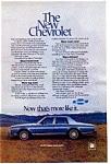 1977 Chevrolet Caprice Classic Sedan Ad